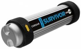 Флешка USB CORSAIR Voyager Vega 64Гб, USB3.0, серебристый [cmfvv3-64gb]