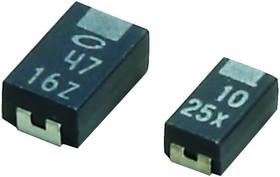 F981A226MSA, TANTALUM CAPACITOR, 22UF, 10V, SMD 20%