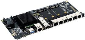 SRM6828S00D01GE000P01CH, Single Board Computer, ClearFog Pro, ARMADA A388 SoM, 1GB RAM, With Heatsink