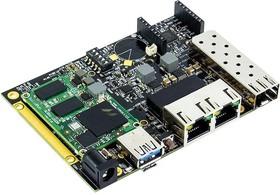 SRM6828S00D01GE000B01CH, Single Board Computer, ClearFog Base, ARMADA A388 SoM, 1GB RAM, With Heatsink