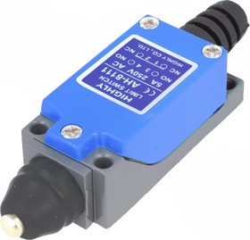 Фото 1/2 AH8111, Концевой выключатель с подвиж. стержнем диам. 6,8мм
