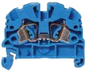 ZSRK 2.5/2A blue, Клемма проходная