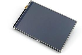 Фото 1/8 4inch RPi LCD (A), IPS дисплей 320×480px с резистивной сенсорной панелью для Raspberry Pi