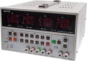 HY3005M-3, лабораторный блок питания 0-30В/5Ax2, 5В/3A