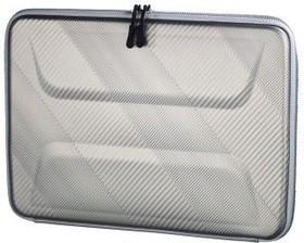 """Фото 1/2 Кейс для ноутбука 13.3"""" Hama Protection серый полипропилен (00101794)"""
