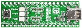 Фото 1/5 MIKROE-1368, MINI-M4 for Stellaris, Миниатюрная отладочная плата ARM Cortex-M4 на базе LX4F230H5QR