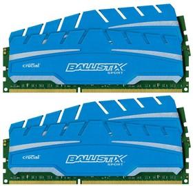 Модуль памяти CRUCIAL Ballistix Sport XT BLS4C8G3D18ADS3BEU DDR3 - 4x 8Гб 1866, DIMM, Ret