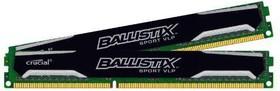 Модуль памяти CRUCIAL Ballistix Sport VLP BLS2C4G3D1609ES2LX0CEU DDR3L - 2x 4Гб 1600, DIMM, Ret, низкопрофильная