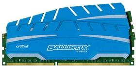 Модуль памяти CRUCIAL Ballistix Sport XT BLS2C8G3D18ADS3CEU DDR3 - 2x 8Гб 1866, DIMM, Ret