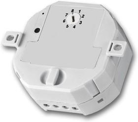 АСМ-100, Встраиваемый радио-выключатель с диммером, макс. 100 Вт