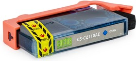 Картридж CACTUS CS-CZ110AE голубой