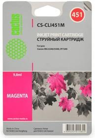 Картридж CACTUS CS-CLI451M пурпурный