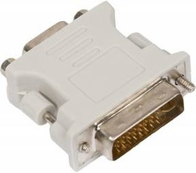 Адаптер DVI BURO DVI-I(m) - VGA HD15 (f) [vga-15f/dvi-i-plug]