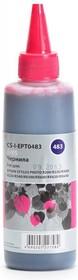 Чернила CACTUS CS-I-EPT0483, для Epson, 100мл, пурпурный