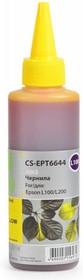 Чернила CACTUS CS-EPT6644, для Epson, 100мл, желтый