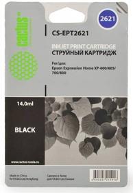 Картридж CACTUS CS-EPT2621 черный