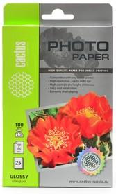 Фотобумага CACTUS CS-GA618025, для струйной печати, A6, 180г/м2, 25 листов