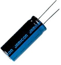 ECAP (К50-35), 100 мкФ, 25 В, 105°C, TK 6.3X11, TKR101M1EE11, Конденсатор электролитический алюминиевый