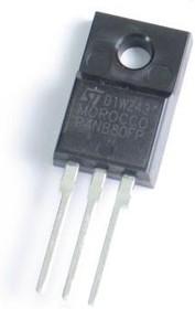 Фото 1/2 STP4NB80FP, Транзистор, PowerMESH, N-канал, 800 В, 3 Ом, 4А [TO-220FP]