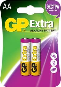 15AX (A316/LR6/AA)2, Элемент питания алкалиновый Extra (2шт) 1.5В