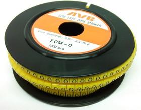 ECM-0 R-0, Маркировка кабельная, 1000шт