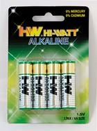 LR6X/B4 (AA), Элемент питания алкалиновый (4шт) 1.5В