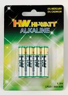 LR03X/B4 (AAA), Элемент питания алкалиновый (4шт) 1.5В