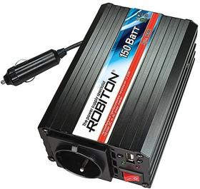 Фото 1/3 R200, DC/AC инвертор, 150Вт, вход 12В, выход 220В(преобразователь автомобильный)