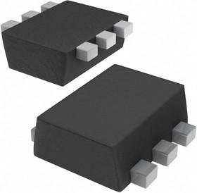 Фото 1/5 USBLC6-2P6, Защита интерфейса USB от электростатических разрядов [SOT-666]