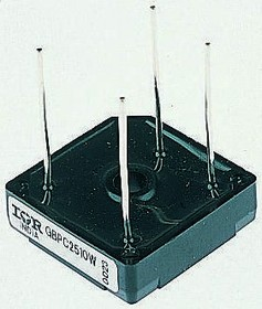 GBPC2504W, Diode Rectifier Bridge Single 400V 25A 4-Pin Case GBPC-W Bag