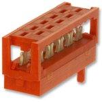 1-215083-0, Разъем типа провод-плата, 28 AWG, 1.27 мм, 10 контакт(-ов), Штекер ...