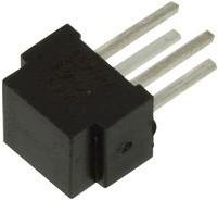 OPB608A, Отражающий фотопрерыватель, серия OPB608, фототранзистор, THT, 1.27мм, 50мА, 2В обратное