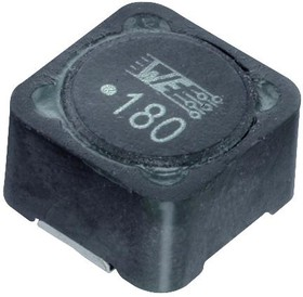 Фото 1/2 7687714152, Силовой Индуктор (SMD), 1.5 мГн, 320 мА, Экранированный, 460 мА, Серия WE-PDHV, 10мм x 10мм x 6мм