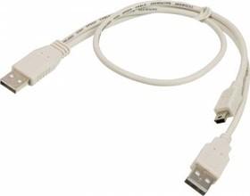 Кабель USB2.0 NINGBO USB A (m) - miniUSB B 5-pin (m) 0.3м