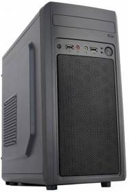 Корпус mATX ACCORD M-02B, Mini-Tower, без БП, черный