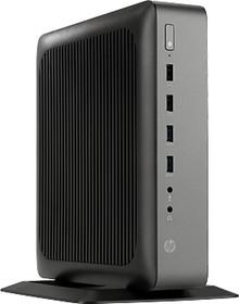 Тонкий Клиент HP t620 Plus, AMD GX-420CA, DDR3L 4Гб, 16Гб(SSD), AMD Radeon HD 8400E, Windows Embedded Standard 8, черный [g6f32aa]