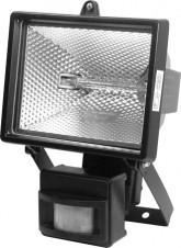 Фото 1/2 ST-150A черный, Прожектор с датчиком движения,120 градусов, 220V, 150W