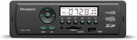 Автомагнитола ROLSEN RCR-103B, USB, SD/MMC
