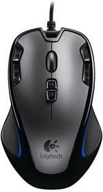 Мышь LOGITECH G300s оптическая проводная USB, черный [910-004345]