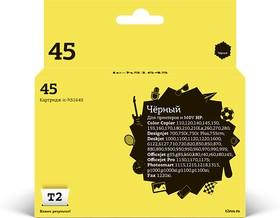 Картридж T2 №45 IC-H51645, черный [ic-h51645 (№45)]