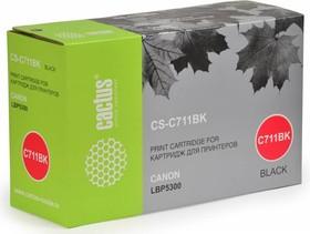 Картридж CACTUS CS-C711BK черный