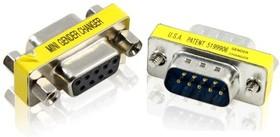 GC-CV208, Переходник COM RS-232 DB9M / DB9F Greenconnect