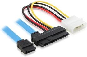 GC-ST303, Комплект кабелей SATA Greenconnect SATA 1,5 Gbps 7pin / SAS 29 pin / Molex 4pin