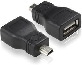 GC-UAF2M5, Переходник mini USB / AF USB 2.0 Greenconnect