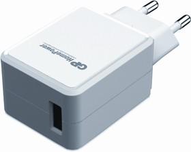 HP21W, Блок питания с USB разъёмом белый, 5В,2.4А,12Вт (адаптер)