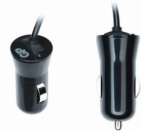 AP13BMNU, Блок питания автомобильный со встроенным mini USB кабелем, 5В,1А (адаптер)