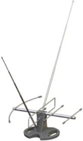 L997.06 VENTA, Антенна телевизионная комнатная, активная, МВ/ДМВ/FM/УКВ