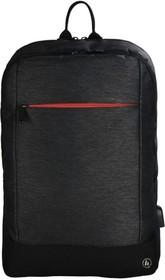 """Фото 1/6 Рюкзак для ноутбука 15.6"""" Hama Manchester черный полиэстер (00101825)"""
