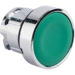 Исполнительный механизм кнопки XB4 зеленый плоский возвратный без фиксации ...