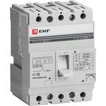 Автоматический выключатель ВА-99 160/100А 3P 35кА EKF PROxima | mccb99-160-100 | EKF